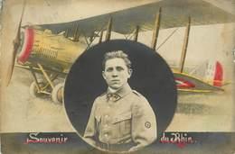 Aviation - Avions - Avion Salmson - Militaria - Régiments - Régiment - Sur Le Col N° 33 - Souvenir Du Rhin - état - 1914-1918: 1ère Guerre