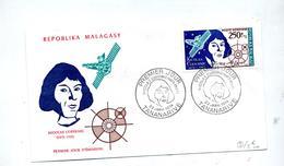 Lettre Fdc 1974 Copernic - Madagascar (1960-...)