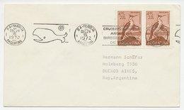 Cover / Postmark Argentina 1972 Whale - Non Classificati