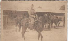 Militaire Militaria :    Soldat  à  Cheval - Personen