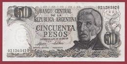 Argentine 50 Pesos -1974/1975---UNC - Argentina