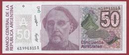 Argentine 50 Austales -1986/1989---UNC - Argentina