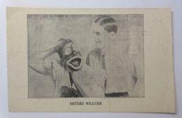 """""""Zirkus, Clown, Brüder Willuhn, Apollo Künstler Theater Wien"""" 1908 ♥ (44205) - Persönlichkeiten"""