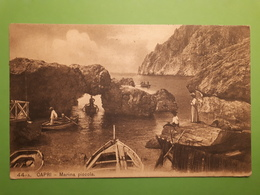 Cartolina - Capri - Marina Piccola - 1911 - Napoli (Naples)