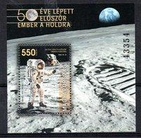 Hungary 500th Anniversary Man On The Moon 2019 MNH - Blocs-feuillets