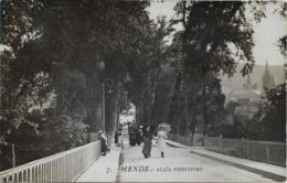 MENDE - Allée PIENCOURT Carte Photo - Mende