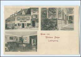 U9441/ Ludwigsburg Weinhaus Seeger AK Ca. 1910 - Non Classés