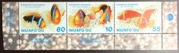 Tonga Niuafo'ou 1998 Year Of The Ocean Fish Marine Life MNH - Peces