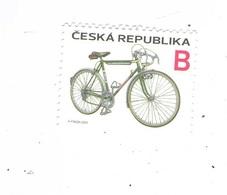 Czech Republic  2020 - Cycling, Mark Favorit, 1 Stamp, MNH - Radsport