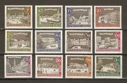 Allemagne Berlin 1962/3 - Vieux Berlin - Série Complète MNH - 196/207 - Lots & Kiloware (max. 999 Stück)