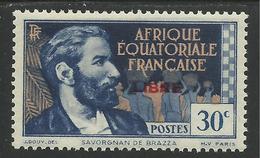 AFRIQUE EQUATORIALE FRANCAISE - AEF - A.E.F. - 1941 - YT 129** - Unused Stamps