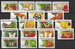 ANTIGUA BARBUDA 1988 BUTTERFLIES - Vlinders