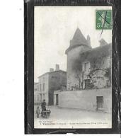 24-VANXAINS-( Riberac)-Une Vue Animée De *L'Ançien ARCHIPRETE Des Xv  Et XVI E Siecle-*Bureau De Tabac - France