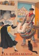 Illustrateur Jean PARIS - M. Barré & J. Dayez - Recette -  La Bouillabaisse - N° 1417 L - Andere Illustrators