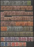 + 150 Zegels Restant Verzameling - Zie Scan / + 150 Timbres Restant D'une Collection - Dubbels - 11 Zegels Op Fragment - Ohne Zuordnung