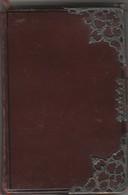 - Très Beau Calendrier - Agenda De 1878 Avec Bord De Page Doré, Environ 200 Pages, Très Rare - Calendars