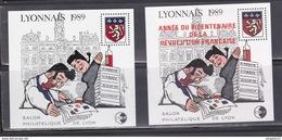 Au Plus Rapide Lyonnais 1989 2 Blocs Excellent état - CNEP