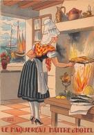 Illustrateur Jean PARIS - M. Barré & J. Dayez - Recette -  Le Maquereau Maître D'hotel - N° 1417 R - Andere Illustrators