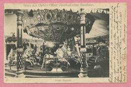 Manège - Caroussel - Karussell - Carousel - GRUSS Aus Opitz's Palast Venetianischer Gondolen - MÜLHAUSEN - MULHOUSE - Postcards