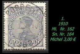 1893 - Mi. Nr. 162 - 1892-1898 : D.Carlos I