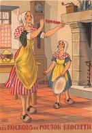 Illustrateur Jean PARIS - M. Barré & J. Dayez - Recette - Les Rognons De Mouton Brochette - N° 1418 F - Andere Illustrators