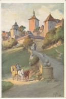 Postcard - Art - Tony Binder - Rothenburg Ob Der Tauber Koboldzellertor - No Card No. Unused Very Good - Unclassified