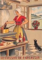 Illustrateur Jean PARIS - M. Barré & J. Dayez - Recette - Le Cuissot De Marcassin - N° 1418 J - Andere Illustrators