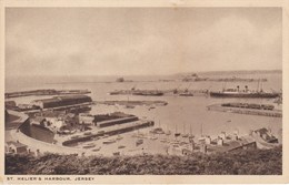 JERSEY (île Anglo-Normande). St- HELIER'S  HARBOUR - Cartes Postales