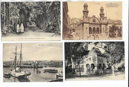 ALGERIE - Lot De 20 Cartes Postales Différentes De La Ville D' ALGER - Toutes Scannées - Alger