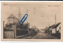 Postkaart Verzonden 1949 Baarle Dorpsstraat Met Tram (zeldzaam) - Gent