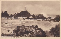 JERSEY (île Anglo-Normande).  CORBIERE  LIGHTHOUSE - Cartes Postales