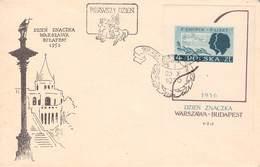 POLEN - FDC BLOCK 19 TAG DER BRIEFMARKE 1956 //ak238 - FDC