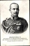 Cp Grand-duc Friedrich Franz IV. Von Mecklenburg Schwerin - Familles Royales