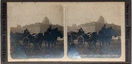 Photo Stéréoscopique - PARIS - Inondations 1910 - Transports Des Canots BERTON - - Photos Stéréoscopiques