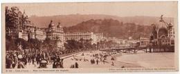 CP 06 A.M. Nice Promenade Des Anglais - N° B742 - édition Chocolat Cantaloup-Catala - Format 9.5 X 23 Cm - Multi-vues, Vues Panoramiques