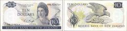 10 Dollari 1967/81 - New Zealand