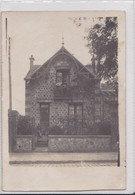 Carte Photo 1910 Villa , Maison à Carrières Sur Seine (voir Texte Au Dos) - Carrières-sur-Seine