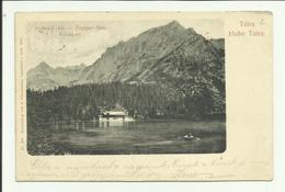 Tátra, Hohe Tatra, Poprádi Tó 1901. - Slovacchia