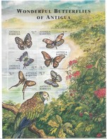 ANTIGUA BARBUDA 2000  BUTTERFLIES - Mariposas