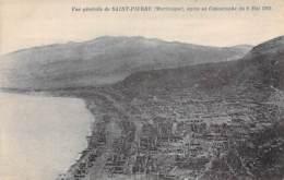 MARTINIQUE - ST PIERRE Vue Générale Après La Catastrophe Du 8 Mai 1902 - CPA - Antilles West Indies Caribbean Caraïbes - Martinique