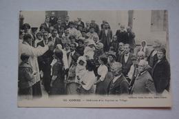 CORSE.   Cérémonie D'un Baptême Au Village - Corte