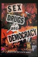 Sex Drugs And Democracy Carte Postale - Pubblicitari
