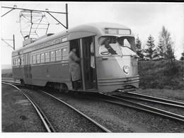 NMVB - PCC 10419 Uit Amerika, Proefrit, 16 April 1950, Auteur J. Voerman - Trains