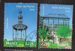 TIMBRE FRANCAIS...OBLITERATIONS...RONDES...2009..  N° 4384/4385...JARDIN DES PLANTES..  VOIR SCAN - France