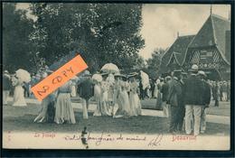 Deauville Hippisme Carte Pionnière 1903 Le Pesage Ed M D S - Deauville
