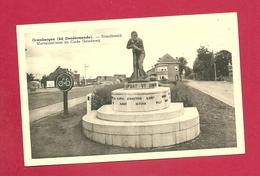 C.P. Grembergen = Maetelaarllan  En  Oude Goudweg  : Standbeeld - Dendermonde
