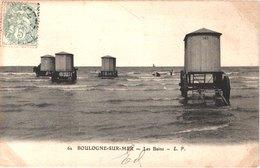 FR62 BOULOGNE SUR MER - MP 62 - Les Bains - Roulottes - Belle - Boulogne Sur Mer