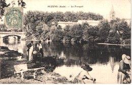 FR11 PEZENS - Le Fresquel - Lavandières - Animée - Belle - France