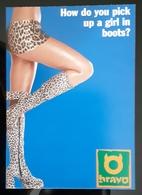 Sexy Legs Female With Boots Carte Postale - Pubblicitari