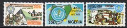 APR2119 - NIGERIA 1988, Serie Yvert N. 521/523  ***  MNH  (2380A) .  Oms - Nigeria (1961-...)